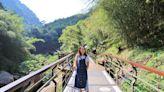 入門級賞瀑步道~嘉義瑞里「圓潭自然生態園區」來回20分鐘賞山谷飛瀑,秋日森林健走好舒爽!