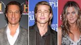 Matthew McConaughey Reacts to Brad and Jen's 'Sexual Tension' at Reunion
