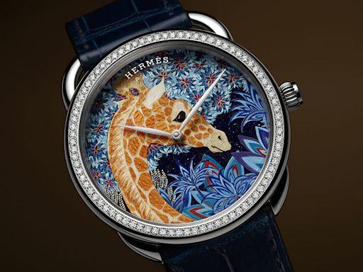 Hermès工藝手錶限量24只!一文了解Arceau The Three Graces手錶和Arceau Toucan de Paradis手錶的入手須知