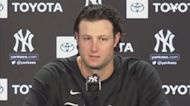 Gerrit Cole on Giancarlo Stanton's spat with Francisco Lindor, Gleyber Torres moving to 2B   Yankees News Conference
