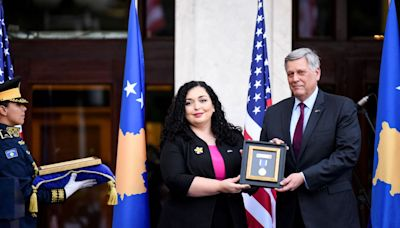 Kosovo honors Beau Biden for his service to the country