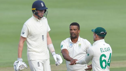 South Africa v England: Home side fightback in Johannesburg