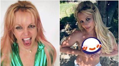 布蘭妮「上空入鏡」雙手捧雪球! 粉絲讀懂辣照意涵:還給她自由