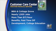 Discover Bringing 1,000 Jobs To Chatham At New Customer Care Center