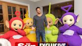 Peter Andre launches Teletubbies as band manager as they take on Coldplay with 25th anniversary comeback singles & album