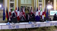 G7 agrees to tax big firms and squeeze havens