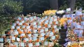 高以翔墓園收花最終日 女友曝花海謝粉絲「滿滿的愛」