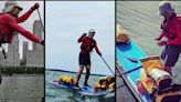 Adventurist describes journey on paddleboard from Buffalo to New York City