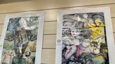 世界兒童畫展作品駐星代表處展出 徐若瑄攜子參觀