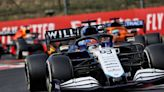 Russell in tears after first points for Williams