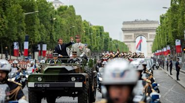 France's Bastille Day military parade replaced by ceremony in Paris