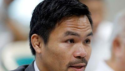 拳王巴喬「不滿杜特蒂對中政策」 宣布角逐菲律賓總統