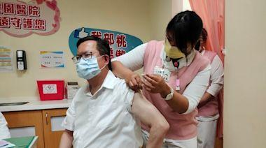 AZ疫苗擴大施打對象 鄭文燦率先接種