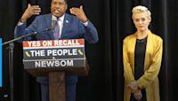 California's Newsom in last-minute blitz ahead of Tuesday's election