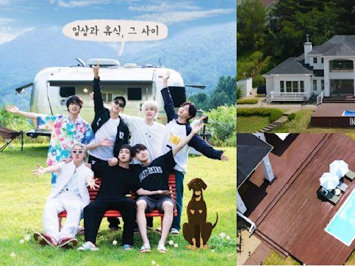 BTS防彈少年團《In the SOOP》第二季預告!從建築設計到完工花費1年,還有游泳池、網球場等!