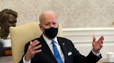 Biden blasts Texas' decision to lift COVID-19 mask mandate as 'Neanderthal thinking'
