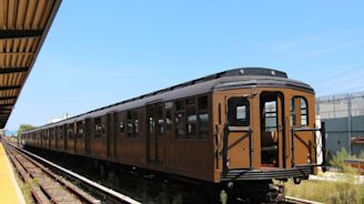 Blast from the past: Vintage train to roll into Coney Island