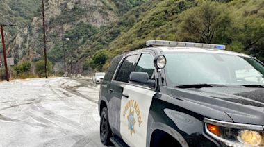 Malibu locals surprised when weather turns from sunshine to snow