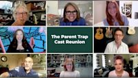 Lindsay Lohan reunites with 'The Parent Trap' cast for movie's 22nd anniversary