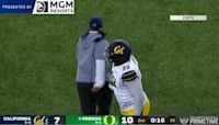 Highlights: Goal line stand seals No. 9 Oregon football's 24-17 win over California