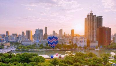 高雄最夯景點 愛河熱氣球浪漫升空 憑熱氣球門票入住國賓港景房享2899元