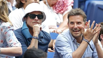 Brad Pitt and Bradley Cooper Had a Friend Date at the US Open