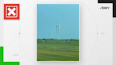 No, a heat wave didn't cause a wind turbine to melt in Texas