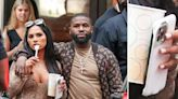 Floyd Mayweather's Girlfriend Gallienne Nabila Snapped Wearing Giant Rock On Engagement Finger In New York City — Photos