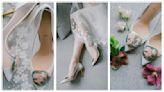 金箔鞋跟搭配金箔扣 SAUVEREIGN讓準新娘成為世上獨一無二的妳