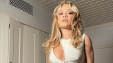 Rita Ora Teases Her Super Toned Arms And Abs In A Racy Cut-Out Dress