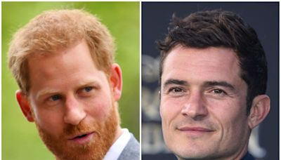 Prince Harry and neighbor Orlando Bloom 'keep in contact' to warn each other about nearby paparazzi