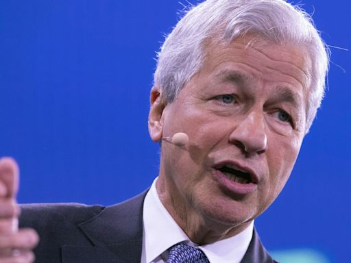 JPMorgan CEO Jamie Dimon says inflation will be more than transitory