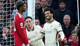 Mohamed Salah nets hat-trick as rampant Liverpool claim record win at Man Utd