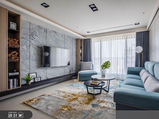 原木輕淺色還空間本質,獨特玄關設計兼顧風水保有隱私