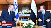 Naftali Bennett makes first visit to Egypt by an Israeli PM in a decade