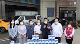 國民黨捐贈聯新醫院高防護口罩面罩 籲超前部署第二代疫苗