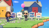 Biden and Harris launch yard signs for 'Animal Crossing: New Horizons'