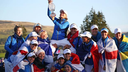 Solheim Cup win for Europe must not paper over slow play issue