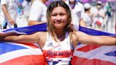 Sky Brown, 13, wins bronze to become Great Britain's youngest Olympic medallist