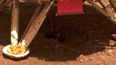 中國火星車著陸平台下赫然出現一個大洞,讓科學家感到很憂慮