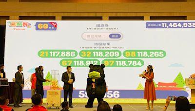 國旅券加抽1組「410」原因曝光 網友哀嚎比發票還難中