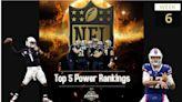 NFL Top 5 Power Rankings - Week 6