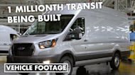 Assembly of the Ford's 1 millionth Transit