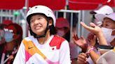 滑板/7歲學滑板 13歲西矢椛成日本最年輕奧運金牌得主