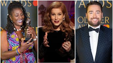 Olivier Awards: Messages of 'faith and hope' for theatre industry