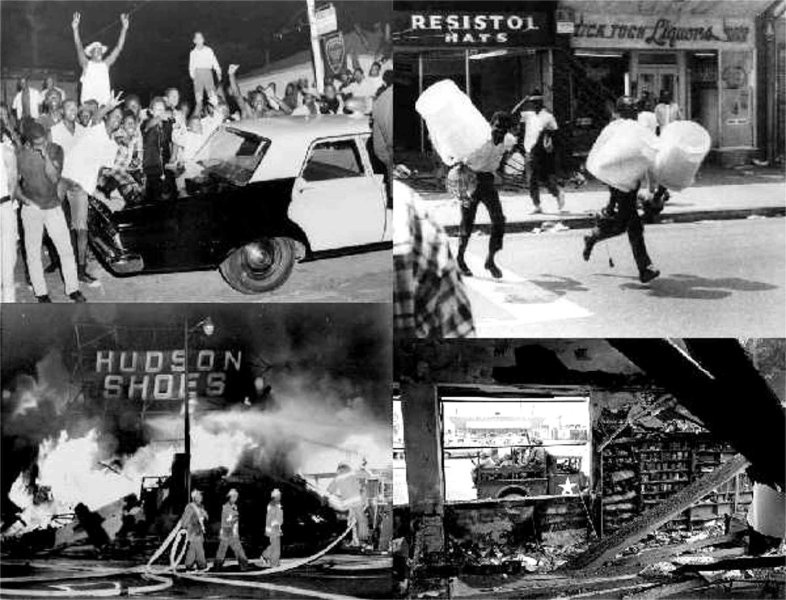 ... saw in televised images and printed photos of the 1965 watts riots
