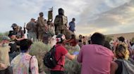 Protester Shot During Attempt to Pull Down Conquistador Statue in Albuquerque, New Mexico