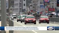 Bookings, reservations above average for many places as summer season begins