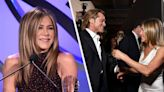 """Jennifer Aniston Revealed That She's """"Buddies"""" With Brad Pitt As She Opened Up About Their Current Relationship"""