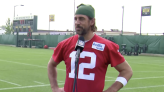 Rodgers reveals Packers rookie who's stood out to him in training camp